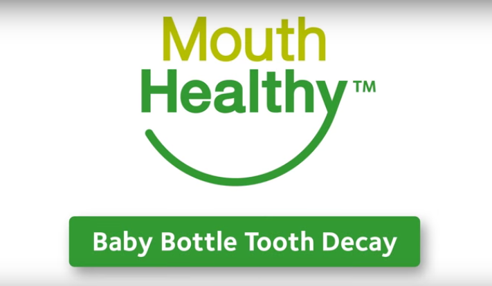Baby Bottle Tooth Decay Video Image
