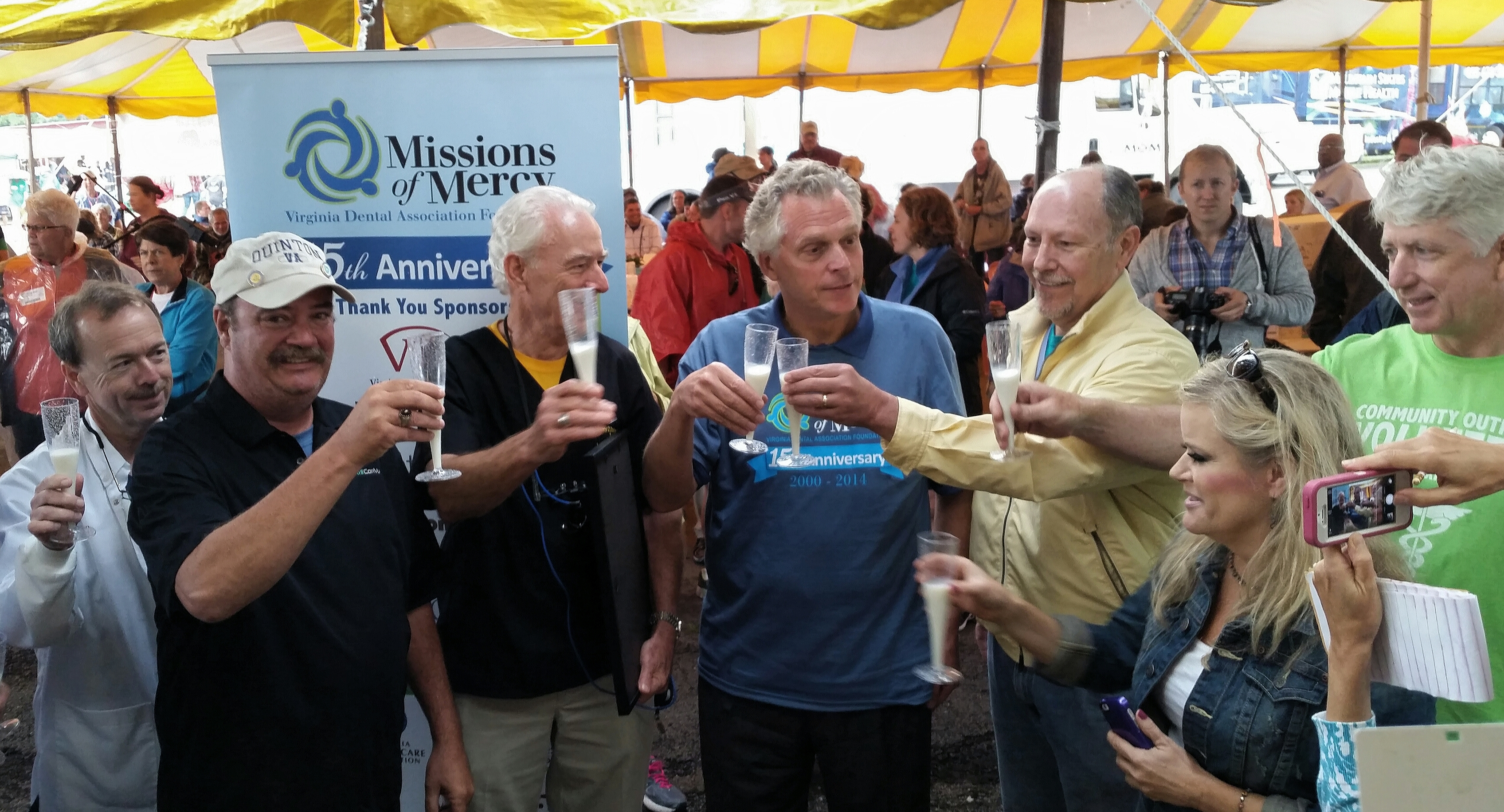 Milk Toast with Governor